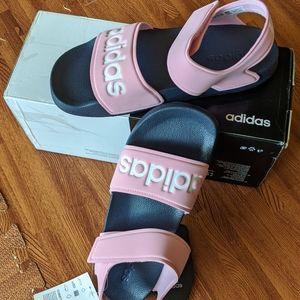 Adidas | Pink Adilette strappy Sandal size 38 NWT